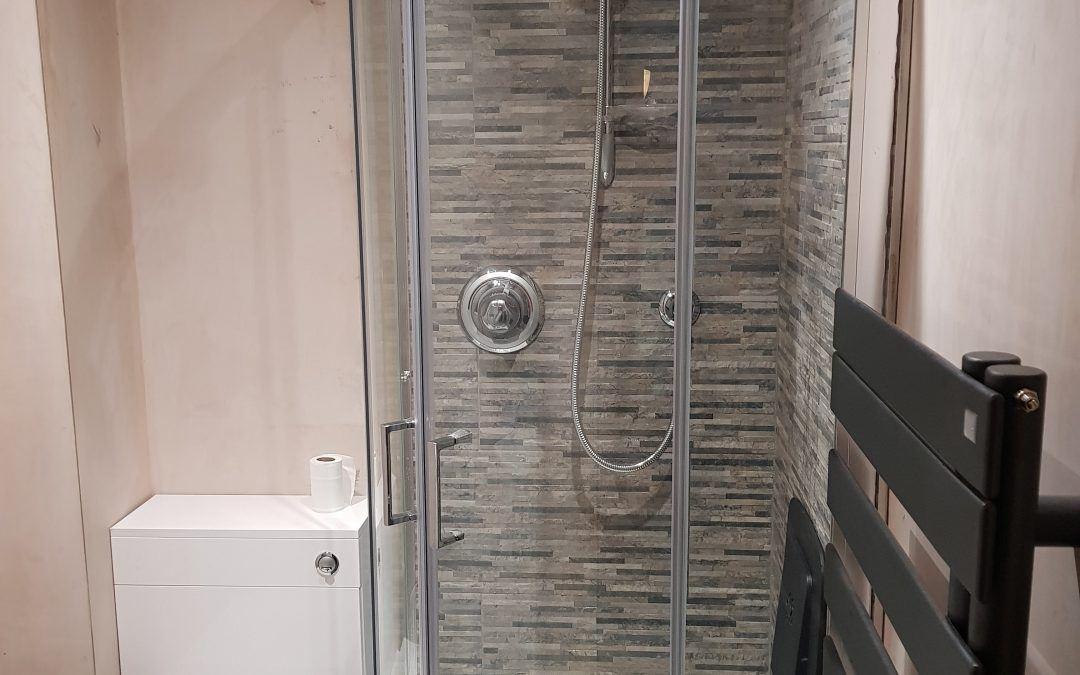 Downstairs shower room in Bicester