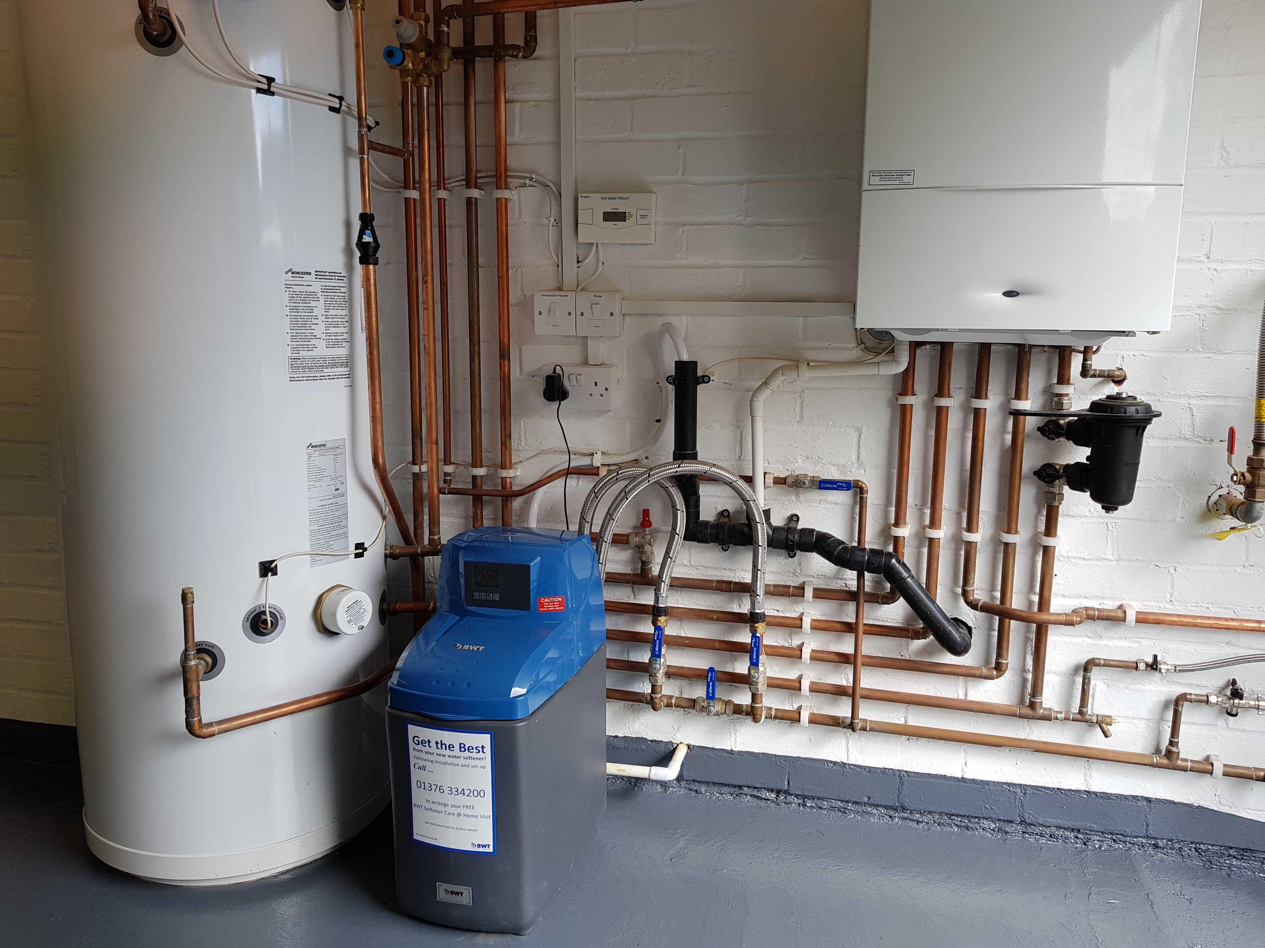 Boiler Install & Servicing - Bunce Plumbing & Heating