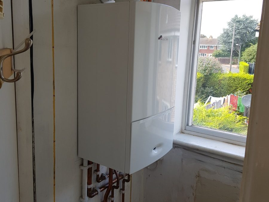 Boiler upgrade in a flat
